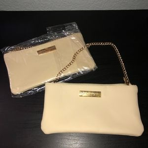Nude Ferragamo Mini Bag